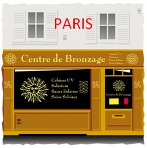 Instituts de bronzage sur Paris